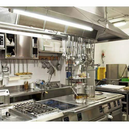 Stainless Steel Restaurant Modular Kitchen