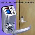 Adel Fingerprint Lock, Satin