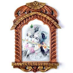 Lord Radha Krishna Jharokha Painting 411