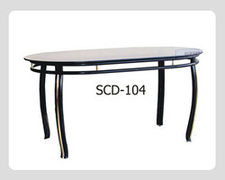Round Dining Steel Table