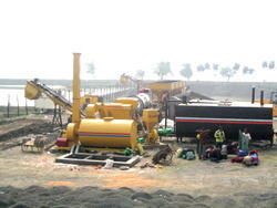 Asphalt Cum Wet Mix Plant