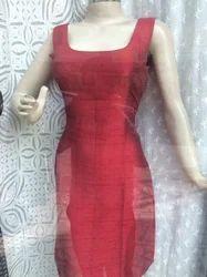 Silk Western Dress