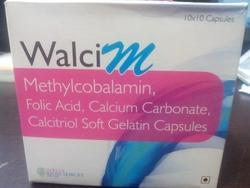 Methylcobalamin Calcitrol Calcium Carbonate Vitamin B6 Soft Gelatin Capsules