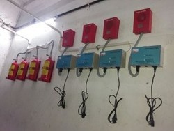 Electical Panel Gas Flooding System