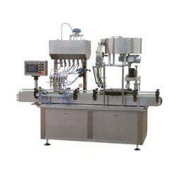 Automatic Jar Washing Filling Capping Machines