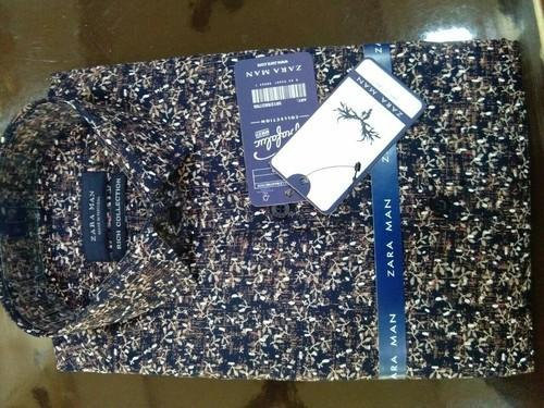 7e953218 Cotton Party Wear And Formal Wear Zara Man Shirts, Rs 400 /piece ...