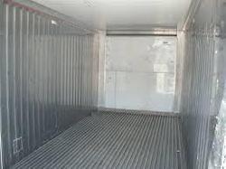 Cortan steel Rectangular High Cube Dry Container, Capacity: 25000kgs, Size/Dimension: 20x8x8.6ft