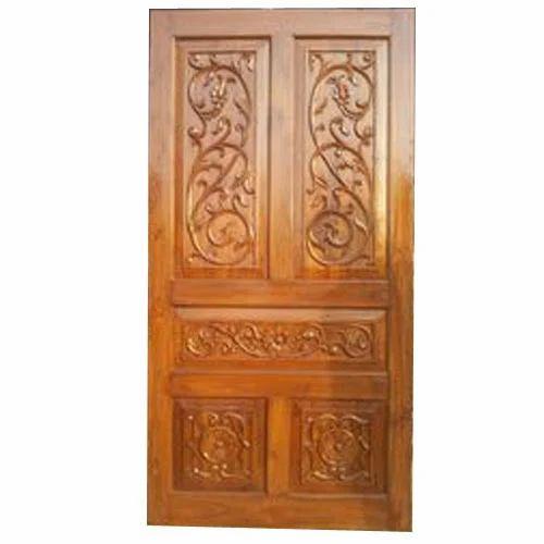 Teak Wood Door Carved Teak Wood Door Manufacturer From