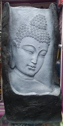 Fiber Glass Buddha Water Fountain, Size (centimetre): 85