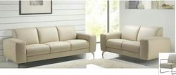 LGE Seating Capacity: 5 Person Nathan Leather sofa, For Home