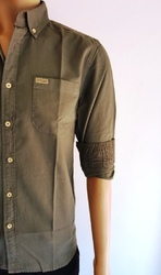 Men's Cotton Designer Shirt, Size: M to XL