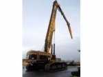 telescopic boom excavators