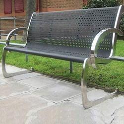 Stainless Steel Garden Bench