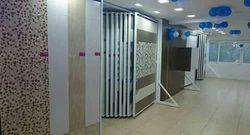 Wall Mounted Tile Display Stand