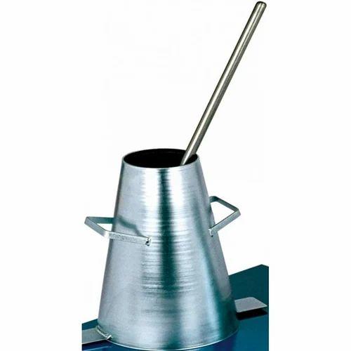 Slump Cone Tamping Rod Civil Lab Equipments Ram Nagar Coimbatore