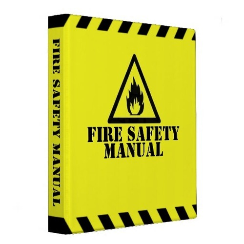 Fire Safety Manual Fire Safety Service  Fire Plan India Private