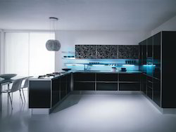 Acrylic Modular Kitchens