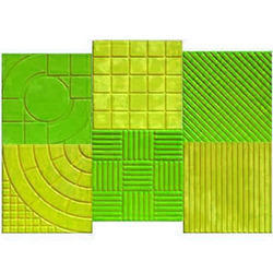 Rubber Tile Moulds