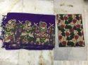 Silk Cotton Kalamkari Patch Work Sarees