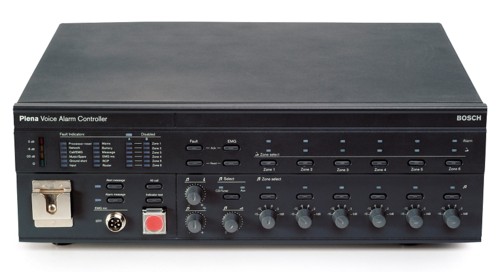 Bosch Range Top >> Bosch PA System - BOSCH LBB1990 Plena Voice Alarm Controller Wholesaler from New Delhi