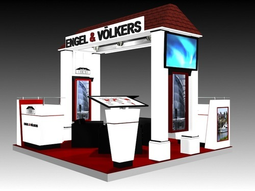 Expo Stands Kioska : Exhibition kiosk stand fabrication services in greater kailash 1