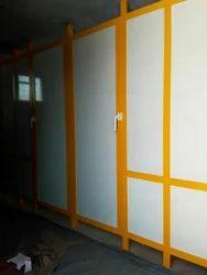 Aluminium And Fibre Doors