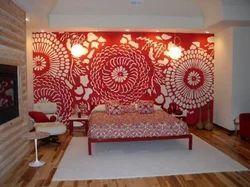 Stencils and interior texture