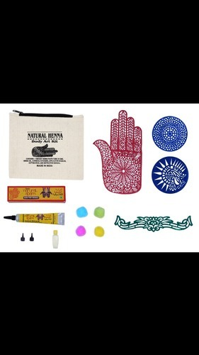 Natural Henna Body Art Kit At Piece Sainik Farms Gurgaon Id 11154150130