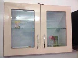 Acrylic Wooden Wall Kitchen Cupboard