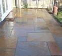 Buff Sandstone Paving