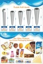 Ice Cream Moulds And Stick Holders