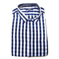 Punit Polyfab Checks Mens Formal Shirts, Packaging Type: Packet, Machine,Hand Wash