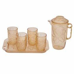 Juice Plastic Glass Set