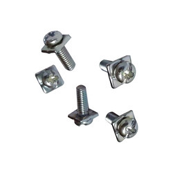 Brass Screws with Attached Washers