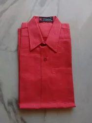 Maruthi Plain Cotton Khadhi Shirt, Normal Wash
