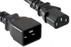 DAKSH PC C20 to C13 12AWG 16AMP 2M Power Cord