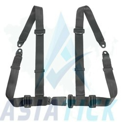 Ralli type seat belts for cars