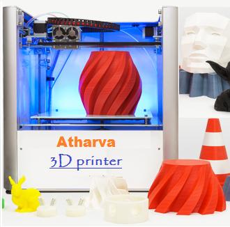 Fdm 3Dedge atharva Atharva Mini 3D Printer, Model Name/Number: 3dedge, For Cad Models