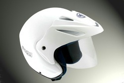 Dezar Fibre Glass Motorcycle Helmet, Size: XL