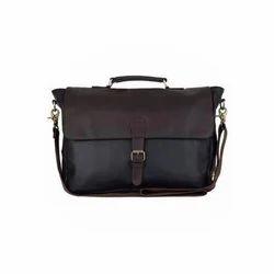 Black Leather Stylish Bag