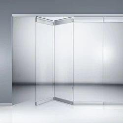 Horizontal Sliding Wall with Rugged Frame
