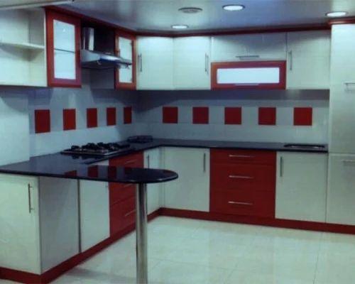 Kitchen Design C Shape modular kitchen & c shape kitchen platform manufacturer from indore