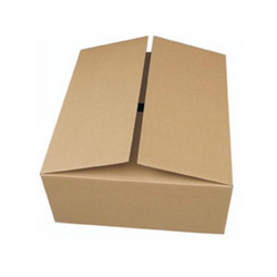 Rectangular Plain Corrugated Paper Box