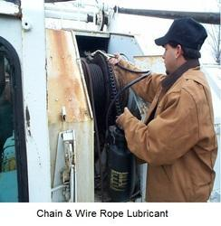 Chain & Wire Rope Lubricants