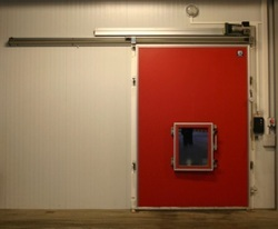 Controlled Atmosphere Sliding Door