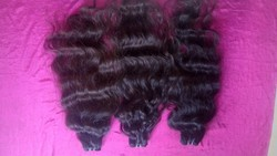 Temple raw human hair from india