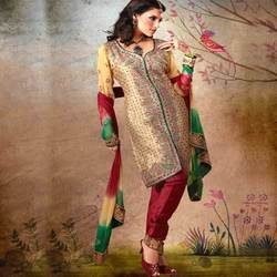 Ladies Silk Suit in Mumbai, Maharashtra | Mahilaon ka Silk Ka Suit ...