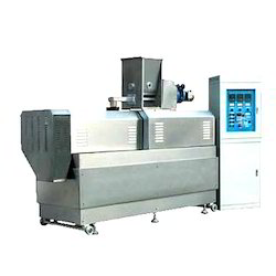 Horizontal Automatic Twin Screw Extruder Food Machine, 70