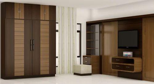 Wooden Wardrobes Designing Services Sliding Doors Wardrobe Service