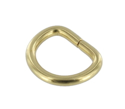 Brass D Rings